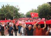 Şanlıurfa'da teröre tepki yürüyüşü