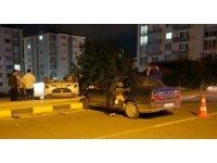 Kastamonu'da kavşakta iki otomobil çarpıştı: 4 yaralı