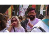Bursa'da renkli koşu festivali