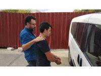 Silahla bir kişiyi yaralayan genç tutuklandı