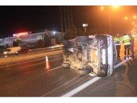 TEM Otoyolunda trafik kazası: 4 yaralı