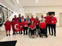 Kahramanmaraşlı Sevilay Öztürk, Dünya 3.'sü oldu
