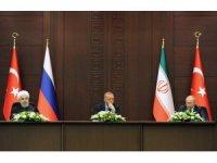 Türkiye-Rusya-İran Üçlü Liderler Zirvesi tamamlandı