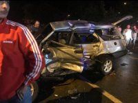 Rize'de kaza: 1 ölü, 2 yaralı