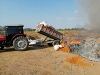 Gaziantep 'te 25 ton bozulmuş domates ele geçirildi