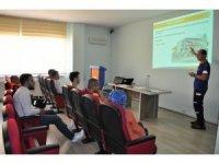 Kütahya AFAD'tan 'Genç Kızılay' üyelerine eğitim