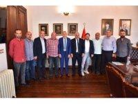 Sanayiciler Başkan Zorluoğlu ile yeni sanayi sitesini konuştu