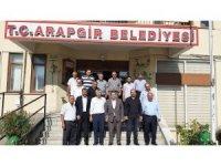 MHP'li Fendoğlu ve İl Başkanı Avşar Arapgir ilçesinde