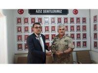 İl Jandarma Komutanı İnce'den, gazilere ziyaret