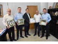 Zeytinyağı işletmecisi Bilen'den Başkan Dutlulu'ya ziyaret