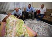 Başkan Bıyık'tan yaşlı ve hasta ziyaretler