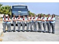 İzmir'de kadın şoför dönemi