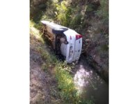 Okul müdürü trafik kazasında yaralandı