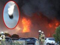 Tuzla'daki fabrika yangınında korkunç patlama:Yaralılar var