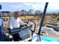 Yeşilyurt Belediyesi yol çalışmalarını sürdürüyor