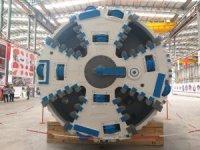 Ergene Havzası için üçüncü tünel açma makinesi hazır