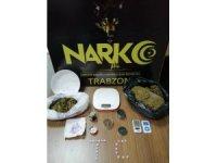 Uyuşturucu madde ticaretinden aranan 3 şahıs Trabzon'da yakalandı