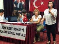 Söke Kent Konseyi'nin yeni Başkanı Güler Nalbant oldu