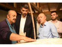 Kartepe'de tarihi su değirmeni restore edildi