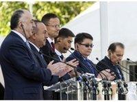 Bakan Çavuşoğlu, Türk Konseyi Ofisi Açılış törenine katıldı