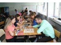 Devrek'te düzenlenen zeka oyunları etkinliğine eğitimcilerden yoğun ilgi