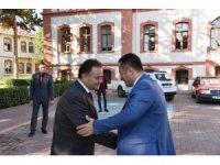 Vali Şentürk ve Başkan Şahin kahvaltıda bir araya geldi