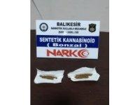 Balıkesir'de uyuşturucuya 2 tutuklama
