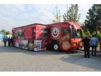Bu otobüsler Çanakkale'yi çocuklara götürecek