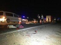 Gaziantep'te tır ile traktör çarpıştı: 1 ölü