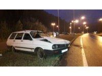 MHP Erfelek İlçe Başkanı kazada yaralandı
