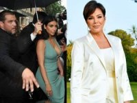 Kim Kardashian'ın korumaları, annesini darp etti!