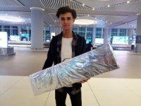 Hurda malzemeden drone yapan Hakkarili genç TEKNOFEST için İstanbul'da