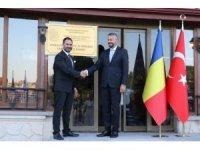 Romanya Fahri Konsolosu Mehmet Dinler görevine başladı