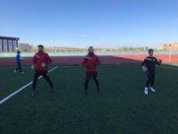 Kars 36 Spor Yakutiye Spor'a maçı hazırlıklarını tamamladı