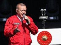 Cumhurbaşkanı Erdoğan TEKNOFEST'te konuştu: ''Bu ülkede katil aranıyorsa bunlar parlamentoya kadar sızmış olanlar''