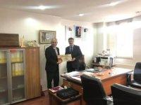 Başkan Yaman'dan Halk Eğitim Müdürü Yıldız'a ziyaret