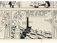 Tenten'in orijinal çizimi alıcı bulamadı