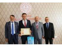 Kütahya'da 'Kalite Takip Sistemi Başarı Belgesi' teslim töreni