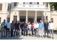 İl Jandarma Komutanı Çarıkcıoğlu, gazetecilerle bir araya geldi