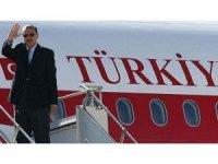Cumhurbaşkanı Erdoğan'nın uçağı  New York'a indi