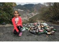 Minik Zeynep'in çöp feryadı