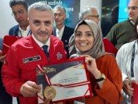 ISIF19'da OMÜ'ye 1 altın ve 3 bonz patent ödülü
