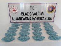 Elazığ'da 20 bin adet uyuşturucu hap ele geçirildi