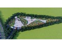 Genç ilçesi için Millet Bahçesi projesi