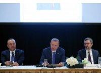 Cumhurbaşkanı Erdoğan, Yuvarlak Masa Toplantısına katıldı