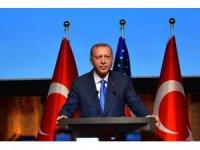 Cumhurbaşkanı Erdoğan New York'ta Türk - İslam âlemine seslendi