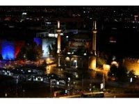 Kayseri'de muhteşem gün batımı