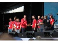 PAÜ'lü öğrenciler Roket Yarışmaları Yüksek İrtifa dalında Türkiye 1. oldu