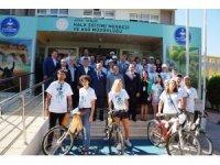 'Geri Dönüşüm İçin Bisikleti Pedalla' projesinin tanıtım toplantısı yapıldı