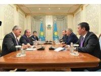 TBMM Başkanı Şentop, Kazakistan kurucu Cumhurbaşkanı Nazarbayev ile görüştü